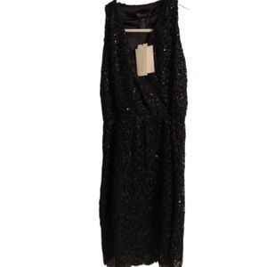 MM.Couture Sequin Lace Dress